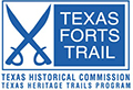 texas forts trail logo